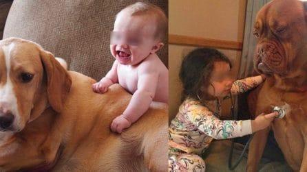 Le 13 foto che ti dimostrano quanto animali e bambini siano affiatati