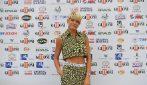Il look sportivo di Elodie al Giffoni Film festival