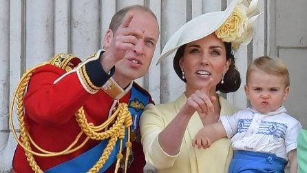 Le espressioni buffe del principe Louis