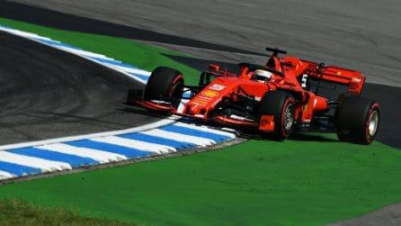 Mercedes cerca gloria nella gara di casa, Vettel a caccia del riscatto