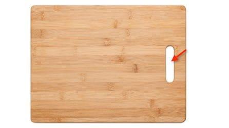 Come utilizzare la fessura del tagliere: il trucchetto che non conoscevi