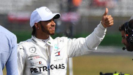 A Hockenheim fa festa solo Hamilton, qualifica da dimenticare per la Ferrari