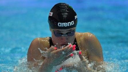 Benedetta Pilato, la nuotatrice con la passione per la nail-art