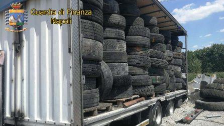 Volla, discarica abusiva di 300 tonnellate di rifiuti speciali scoperta dalla Finanza