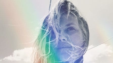 Heidi Klum, i look total white per il viaggio di nozze