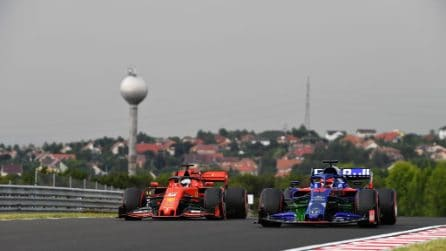 F1 in pista all'Hungaroring, sfida a tre per la vittoria
