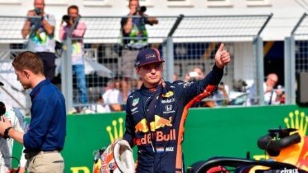 Prima pole in carriera per Verstappen, in Ungheria l'olandese mette tutti in riga