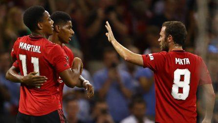 Manchester United-Milan, le immagini del match dell'ICC
