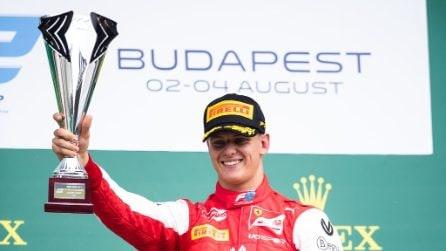 Buon sangue non mente, Mick Schumacher conquista la prima vittoria in F2