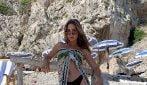 Lady Goetze incanta Capri: le foto della bellissima modella