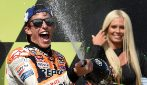 MotoGP, Marquez vince ancora, 2° Dovizioso