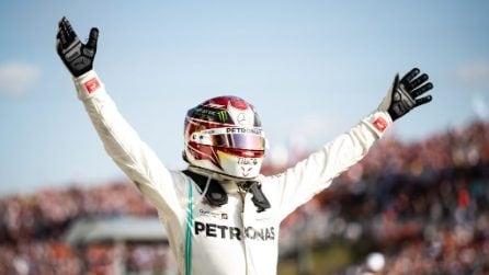 Capolavoro Hamilton, l'inglese vince in Ungheria e prenota il sesto mondiale