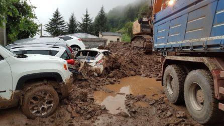 Frana in Alta Valsassina: 146 gli sfollati a Casargo. Nuova allerta meteo per forti temporali
