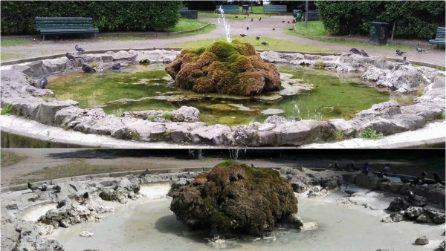 Milano, pulite e riattivate decine di fontane cittadine: le immagini prima e dopo gli interventi