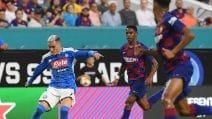 Barcellona-Napoli, le immagini dell'amichevole di Miami