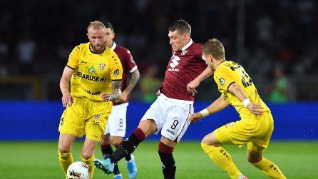 Europa League, le immagini di Torino-Shakhtyor
