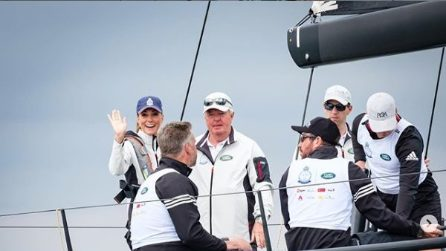 Le foto di William e Kate alla regata King's Cup