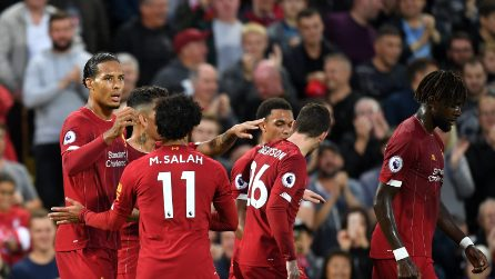 Premier League, le immagini di Liverpool-Norwich