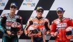 MotoGP, Marquez in pole, Ducati insegue con Dovizioso