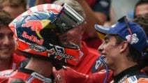 MotoGP, che duello in Austria: Dovi batte Marquez, Quartararo sul podio