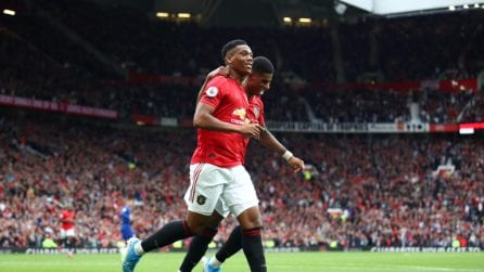 Premier League 19-20, Manchester United-Chelsea 4-0