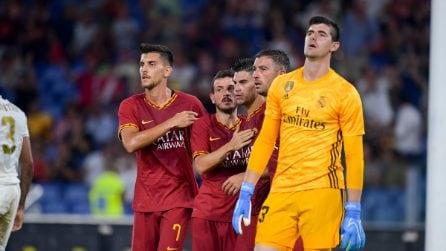Roma-Real Madrid, le immagini dell'amichevole dell'Olimpico
