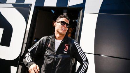 Juventus, le foto della festa di Villar Perosa
