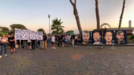 Ponte Morandi, la commemorazione delle 4 vittime di Torre del Greco