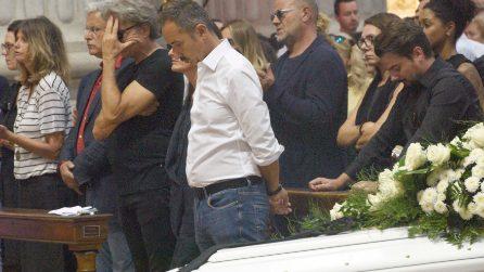 Funerali Nadia Toffa, l'addio nella cattedrale a Brescia