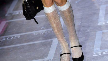 I gambaletti in mostra sono il trend del momento