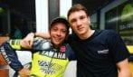 Manuel Bortuzzo realizza il suo sogno e incontra Valentino Rossi