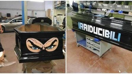 Oggi i funerali di Fabrizio Piscitelli, la bara di Diabolik dipinta dagli Irriducibili