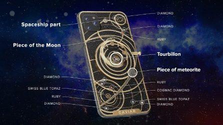 iPhone 11 Diamond Universe, lo smartphone di Caviar con frammenti di meteorite