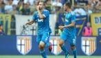 Serie A 2019/2020, le immagini dell'esordio della Juventus a Parma