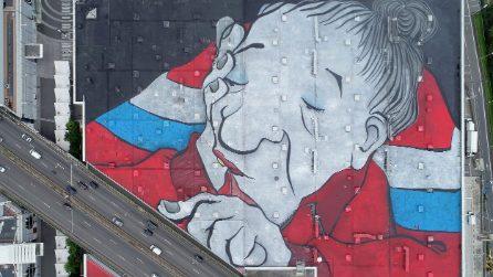 Il più grande murale d'Europa