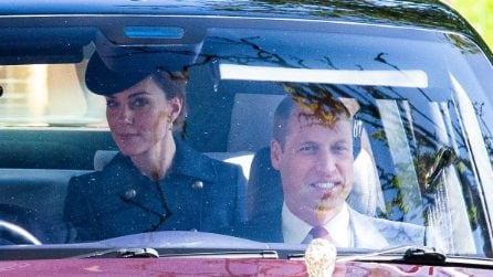 Kate Middleton a Balmoral con l'abito riciclato
