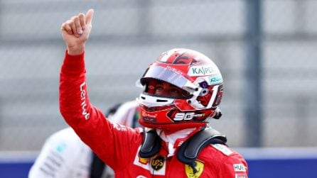 Dominio Ferrari a Spa, Leclerc in pole position davanti a Vettel