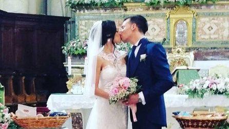 Le foto del matrimonio di Agata Reale e Carmelo De Luca