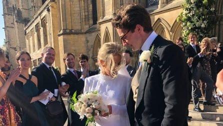 L'abito da sposa di Ellie Goulding per le nozze con Caspar Jopling