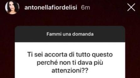 Antonella Fiordelisi svela come ha scoperto il tradimento di Francesco Chiofalo