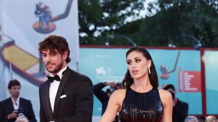 Cecilia Rodriguez e Ignazio Moser sul red carpet alla Mostra di Venezia 2019