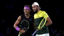 US Open 2019, le immagini di Berrettini-Nadal