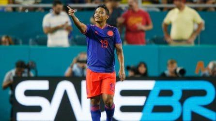 Brasile-Colombia 2-2, le immagini dell'amichevole