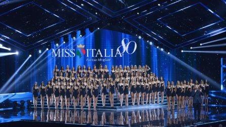 Miss Italia 2019: addio costumi le miss sfilano con abiti da sposa