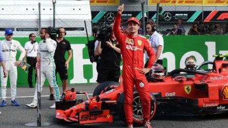 Monza si tinge di rosso Ferrari, Leclerc in pole nel GP d'Italia