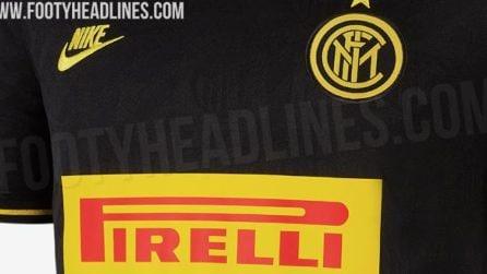 Inter, le immagini della terza maglia 2019/2020