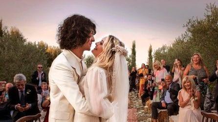 Le foto delle nozze di Carolina Crescentini e Motta