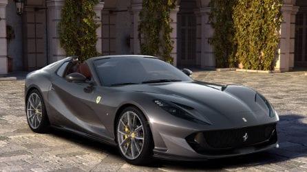 Ferrari 812 GTS, la spider di serie più potente sul mercato