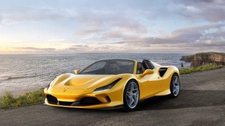 Ferrari F8 Spider, il nuovo gioiello di Maranello a cielo aperto