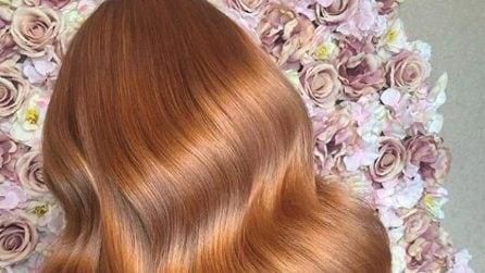 Ginger peach: il colore di capelli per l'autunno 2019